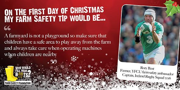 #12DaysOfChristmas – our seasonal farm safety campaign