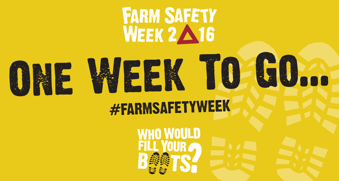 SAVE the DATE Farm Safety Week 2016 4-8 July