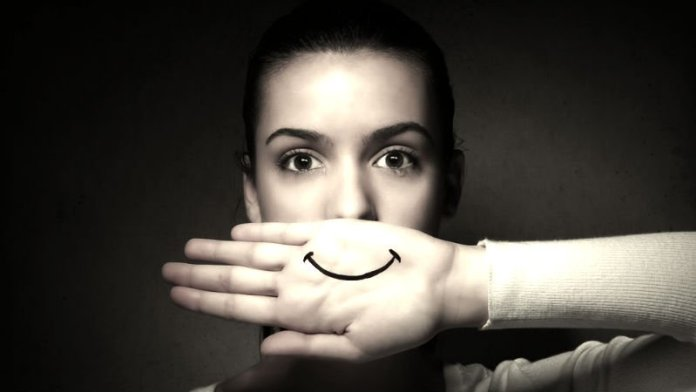 Smile, though your heart is breaking…